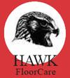hawk floor buffer scrubber machine with pad holder 20 inch h