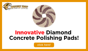 Cheetah Diamond Floor Pads