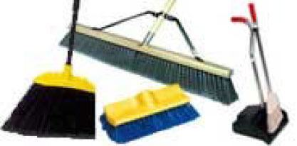 Brooms, Brushes, Dust Pans