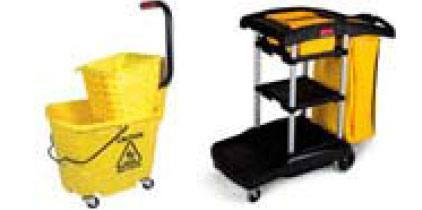 Mop Buckets, Mop Wringers, Mopping Carts